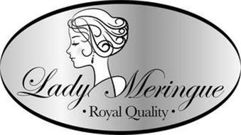 LADY MERINGUE · ROYAL QUALITY ·