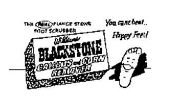 THE REAL PUMICE STONE FOOT SCRUBBER WILLIAMS BLACKSTONE CALLOUS AND CORN REMOVER YOU CANT BEAT ... HAPPY FEET!