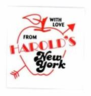WITH LOVE FROM HAROLD'S NEW YORK