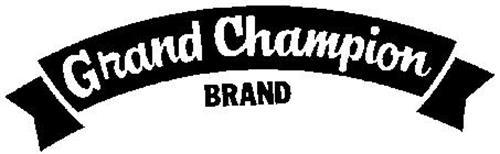 GRAND CHAMPION BRAND