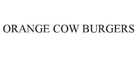 ORANGE COW BURGERS