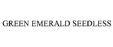 GREEN EMERALD SEEDLESS