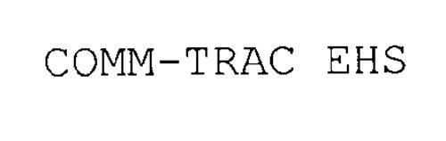 COMM-TRAC EHS