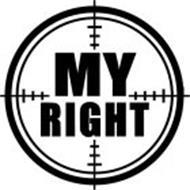 MY RIGHT