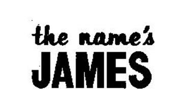 THE NAME'S JAMES