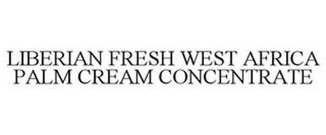 LIBERIAN FRESH WEST AFRICA PALM CREAM CONCENTRATE