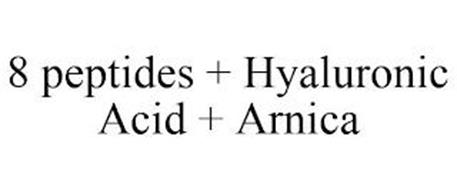 8 PEPTIDES + HYALURONIC ACID + ARNICA