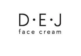 D · E · J FACE CREAM