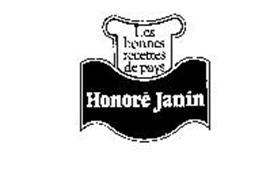 LES BONNES RECETTES DE PAYS HONORE JANIN