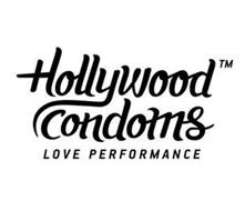 HOLLYWOOD CONDOMS LOVE PERFORMANCE