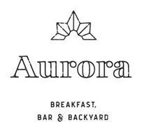 AURORA BREAKFAST, BAR & BACKYARD