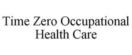 TIME ZERO OCCUPATIONAL HEALTH CARE