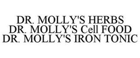 DR. MOLLY'S HERBS DR. MOLLY'S CELL FOOD DR. MOLLY'S IRON TONIC