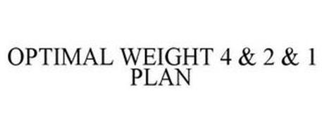 OPTIMAL WEIGHT 4 & 2 & 1 PLAN
