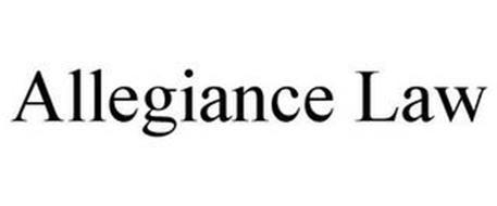 ALLEGIANCE LAW