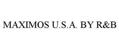 MAXIMOS U.S.A. BY R&B