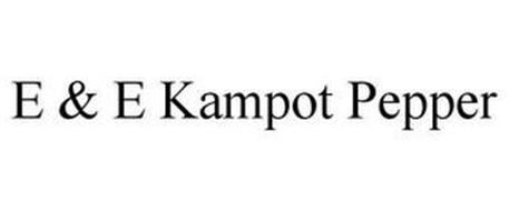 E & E KAMPOT PEPPER