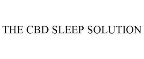 THE CBD SLEEP SOLUTION