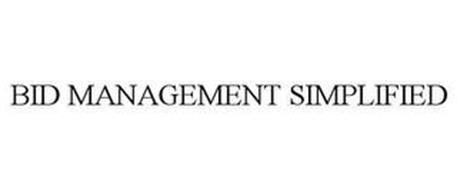 BID MANAGEMENT SIMPLIFIED