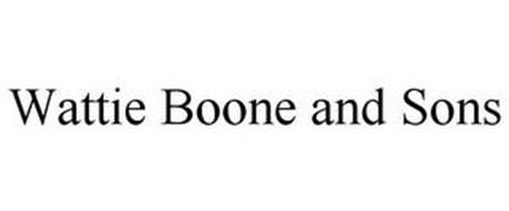 WATTIE BOONE AND SONS