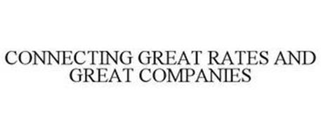 CONNECTING GREAT RATES AND GREAT COMPANIES