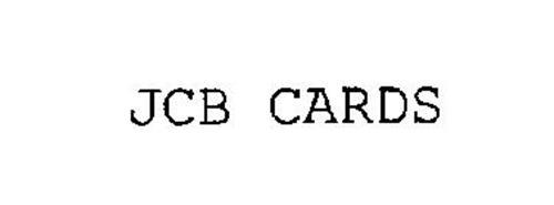 JCB CARDS