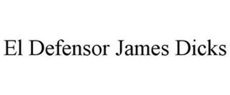 EL DEFENSOR JAMES DICKS