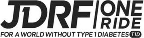 JDRF ONE RIDE FOR A WORLD WITHOUT TYPE 1 DIABETES T1D