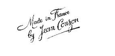 MADE IN FRANCE BY JEAN COUZON