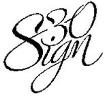 830 SIGN