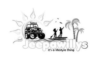 JEEPAWILLYS IT'S A LIFESTYLE THING