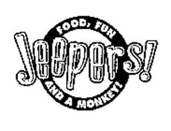 JEEPERS! FOOD, FUN AND A MONKEY!