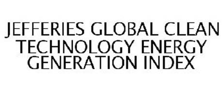 JEFFERIES GLOBAL CLEAN TECHNOLOGY ENERGY GENERATION INDEX
