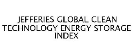 JEFFERIES GLOBAL CLEAN TECHNOLOGY ENERGY STORAGE INDEX