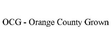 OCG - ORANGE COUNTY GROWN