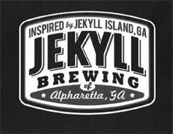 INSPIRED BY JEKYLL ISLAND, GA JEKYLL BREWING OF ALPHARETTA, GA