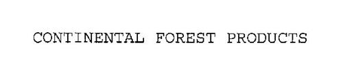 CONTINENTAL FOREST PRODUCTS