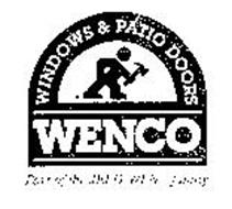 WENCO WINDOWS & PATIO DOORS PART OF THEJELD-WEN FAMILY