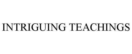 INTRIGUING TEACHINGS