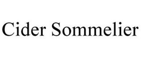 CIDER SOMMELIER