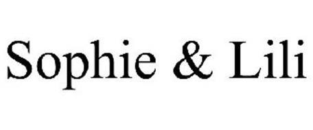 SOPHIE & LILI Trademark of Jennifer Vallez Serial Number ...