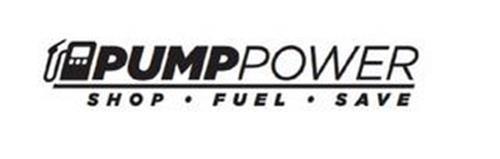 PUMPPOWER SHOP · FUEL · SAVE