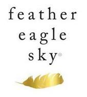 FEATHER EAGLE SKY