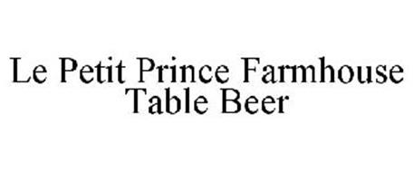 LE PETIT PRINCE FARMHOUSE TABLE BEER