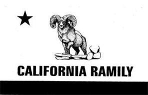 CALIFORNIA RAMILY