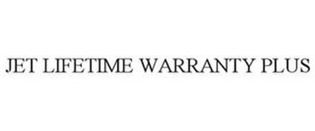 JET LIFETIME WARRANTY PLUS