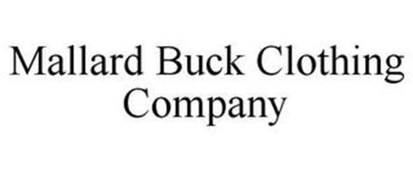 MALLARD BUCK CLOTHING COMPANY