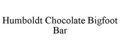 HUMBOLDT CHOCOLATE BIGFOOT BAR