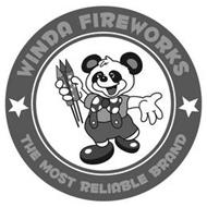 WINDA FIREWORKS THE MOST RELIABLE BRAND