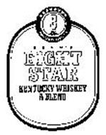 BEAM'S EIGHT STAR KENTUCKY WHISKEY A BLEND 8 STAR BRAND BOTTLED IN KENTUCKY